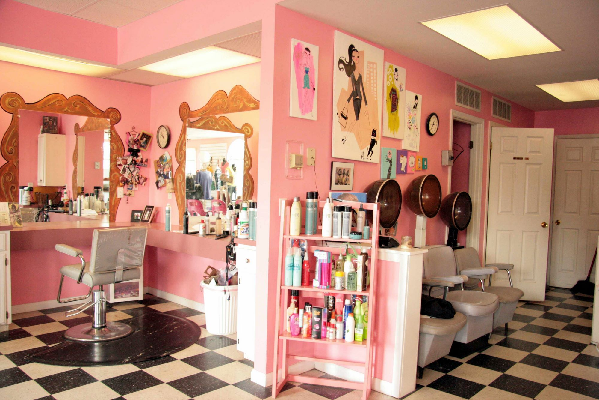 Desk Design Ideas Location Photos Of Tickle Pink Beauty Salon